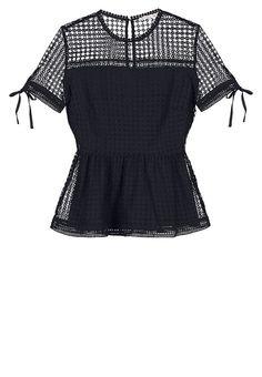 mint&berry Blouse - black - ZALANDO.FR