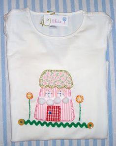 http://chiacreativa.blogspot.com.es  Camiseta Patchwork