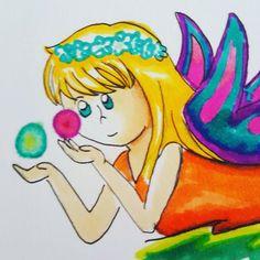 Fairy  #fairy #marker #traditional