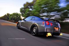 The things I would do to a GT-R. Tune, exhaust: good to go!