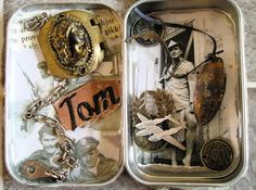 Candy Tin Assemblage class coming to Seattle