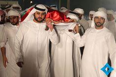 Ahmed bin Mohammed, Maktoum bin Mohammed y Hamdan bin Mohammed bin Rashid Al…
