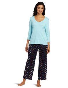 Best Buy Nautica Sleepwear Women s Dot Pajama Sleep Set 292c1a108