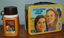 Vintage 1978 Little House On The Prairie Lunch Box and Thermos Retro Lunch Boxes, Tin Lunch Boxes, Metal Lunch Box, Lunch Bags, School Memories, Great Memories, Childhood Memories, School Lunch Box, School Days
