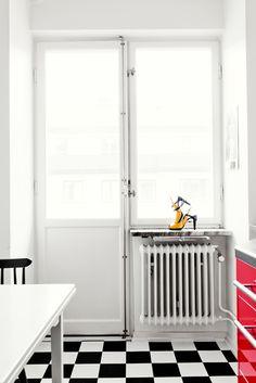 black and white #blackandwhite #room #kitchen #retro #decor