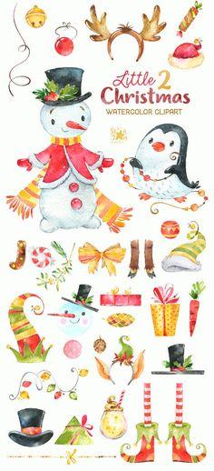 Little Christmas Aquarell Clipart Schneemann Winter Little Christmas Watercolor Clipart Snowman Winter Little Christmas, Christmas Art, Xmas, Christmas Clothes, Christmas Pictures, Winter Christmas, Christmas Ideas, Winter Cliparts, Snowman
