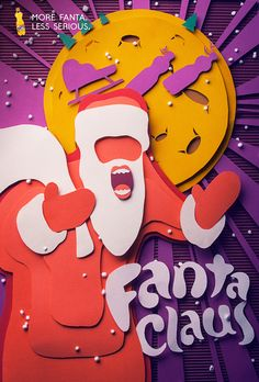 Santa Fanta Family on Behance https://www.behance.net/gallery/Santa-Fanta-Family/9933749