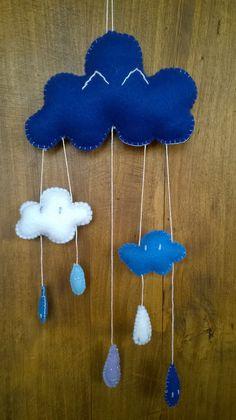 Mobile gouttes de pluie n°2