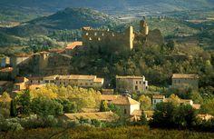 Les Corbières Autumn Colours. in Countryside France Villages