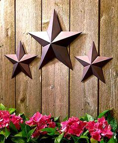 Star wall decor metal star wall d cor 3 piece set for Ready set decor reviews