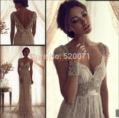 New Design Sheath Cap Sleeve Sweep Train Luxury Crystal Lace Prom Dresses Evening Gowns-in Evening Dresses from Weddings & Events on Aliexpress.com   Alibaba Group