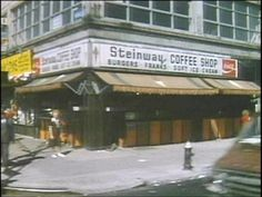 Astoria - The original Steinway Coffee Shop at the corner of Steinway Street and Broadway from the 40's to the 90's. Currently, Lite Bites Diner.