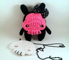 Creepy Cute Plush - Skeleton Stuffed Toy - Zombie Amigurumi Doll - Crochet Pattern - Digital Download PDF - lauriegorexx @ Etsy