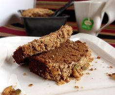 Cardamom Applesauce Bread with Granola Streusel  ___________________________  Little Kitchen Big Flavors