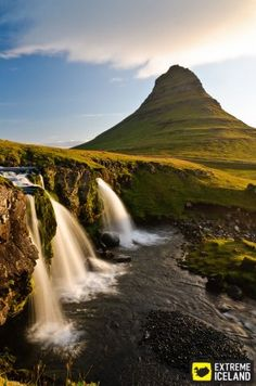 Kirkjufellfoss and Mt. Kirkjufell. Extreme Iceland: Snaefellsnes National Park, Take a tour to the amazing Snaefellsnes Peninsula
