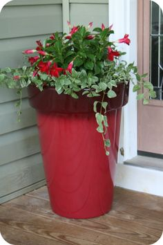 Front Porch Planter from BHG  @Denise H. H. Sawyer - WholesomeMommy.com