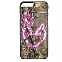 Love Browning Deer Camo Apple Phonecase For Iphone 4/4S Iphone 5/5S Iphone 5C Iphone 6 Iphone 6S Iphone 6 Plus Iphone 6S Plus