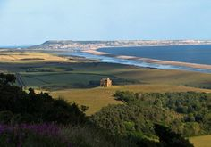 View towards Chesil Beach, Dorset, England UK ©10MFH / Flickr