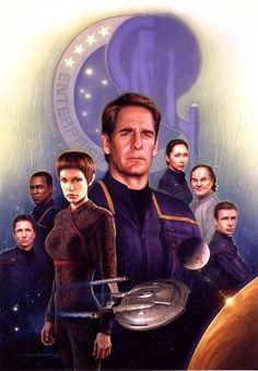 "Star Trek ""Enterprise"" [2001-2005].      Syfymania's photo internet FB"