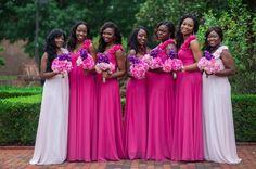 f952e85d19f More fuchsia pink bridesmaids dresses