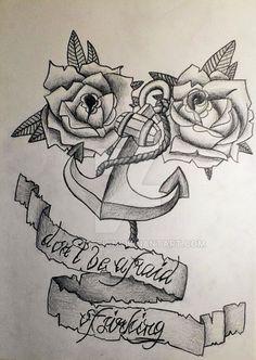 Old School Tattoo Designs Deviantart - Tattoo's Imagine Deviantart Tattoo, Old School Tattoo Designs, Tattoos, Tatuajes, Tattoo, Tattos, Tattoo Designs