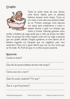 Cositas de AL y PT: Lecturitas en gallego