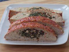 Stuffed Turkey Meatloaf recipe from Aaron McCargo Jr. via Food Network
