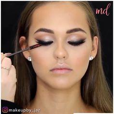 Glam Makeup, Makeup Tips, Beauty Makeup, Hair Makeup, Dark Skin Makeup, Natural Makeup, Makeup Starter Kit, Makeup Looks Tutorial, Eye Liner Tricks