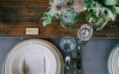 Rustic wood textures, glass ware and green foliage. Wood Texture, Wedding Receptions, Event Styling, Rustic Wood, Lush, Centre, Table Decorations, Green, Home Decor