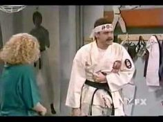 """In Living Color: Karate Instructor: Jim Carrey    """"I guaranty you'll never be afraid of violence again!"""""""
