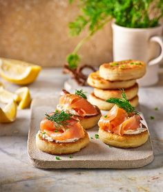 All new high tea recipes... Potato scones Bagels begone! Topped with luscious smoked salmon or as side for soup, these scones will beat any craving.