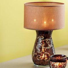 Retiring soon: Amaretto Swirl Multi Tealight Lamp