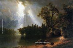 Albert Bierstadt Yosemite, painting