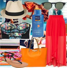 """Summer Paradise With You"" by bianbieber99 ❤ liked on Polyvore"