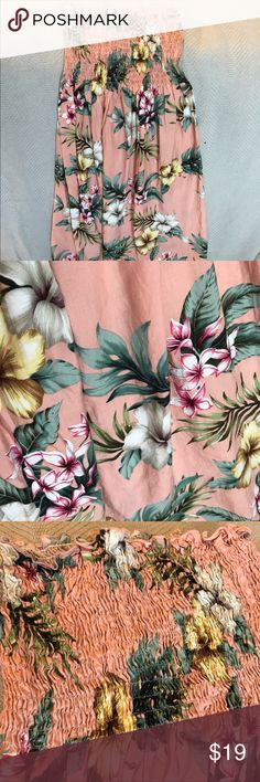 55ec48b58b Can be used as a dress or long top. Perfect for over a bathing suit! Hawaiian  DressesHibiscusCoral ...