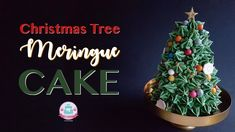 CHRISTMAS TREE MERINGUE CAKE | Abbyliciousz The Cake Boutique