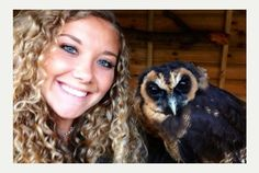 people with owls - Google Search