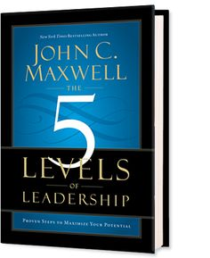 """I am giving away a FREE Copy of John Maxwell's book - """"5 Levels Of Leadership""""!  Take a look!"""