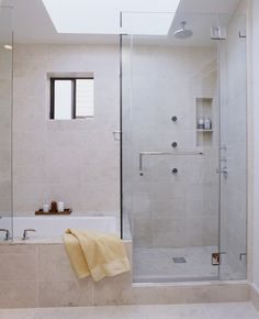 bath and shower combo.