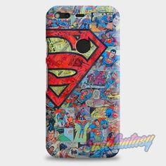 Superman Comics Google Pixel XL Case   casefantasy
