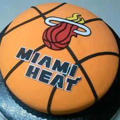 Miami Heat Birthday Cake Idea