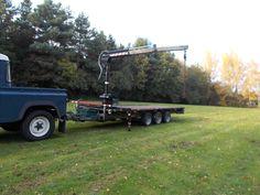 12V Hiab Crane, Fits Ifor Willians Trailer, Pickup, Log bags | eBay