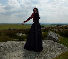 Alexinaberry Gown by Moonmaiden Gothic Clothing UK