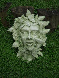 Green Man for the garden