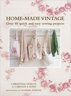 Home-made Vintage easy sewing projects
