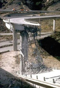 Northridge Earthquake, Los Angeles, California, 1994.  Los Angeles Daily News