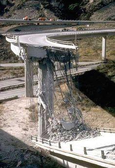 Northridge Earthquake, Los Angeles, California, 1994.  Los Angeles Daily News