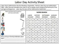 Fun+activity+sheet+with+a+word+search+and+occupation+match.