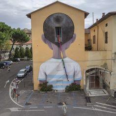 """""""ESCAPE"""" , With 999 galery, Icastica contemporary art festival, Arezzo, Italy"""