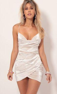Party dresses > Velvet Tulip Dress In Pearl Hoco Dresses, Tight Dresses, Satin Dresses, Homecoming Dresses, Cute Dresses, Nice Party Dresses, Semi Formal Dresses, Pageant Dresses, Tulip Dress
